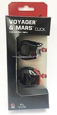 Blackburn Voyager Click/Mars Click Combo Light Set LED Flash Brand New 2024361