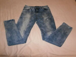 Blind Date Damen Jeans Gr. 31 blau stretchig