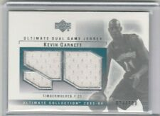 Kevin Garnett 2003-2004 Upper Deck UD Ultimate Dual Game Jersey Patch #/100