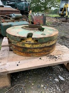 Set of 4x rear wheel weights  X International 784  tractor-  .£250+VAT