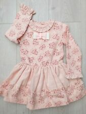 Girls Dress Pink Floral Spanish Romany dress 4 years