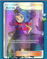 Acerola Full Art Pokemon TCG Online - Digital Card - PTCGO
