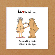 Funny Birthday card 40th 50th 60th Anniversary Wife Husband Mum Dad Grandmother