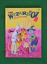 VINTAGE 1978 THE WIZARD OF OZ COLORING BOOK