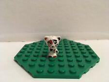 LEGO FRIENDS WHITE CAT WITH DARK ORANGE & BLACK PATCHES FROM SET 41333 (VEGA)