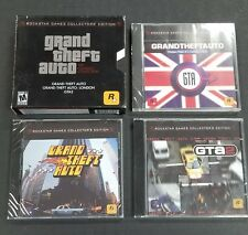Grand Theft Auto: The Classics Collection (PC, 2004) New All Games Inside Sealed