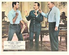 Not With My Wife You Don't original lobby card Tony Curtis Carroll O'Connor