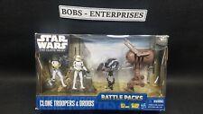 STAR WARS Clone Troopers & Droids Battle Packs  The Clone Wars shelf worn B-213