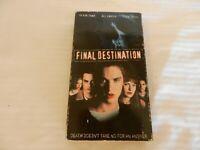 Final Destination (VHS, 2000) Devon Sawa, Ali Larter, Kerr Smith