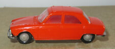 H old made in france 1966 micro norev oh 1/87 peugeot 204 orange #532