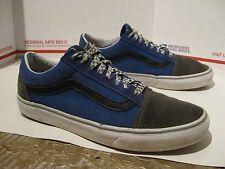 Pre Owned Used Worn Custom Classic Vans Sneakers Mens Sz 11 - Fast Ship -