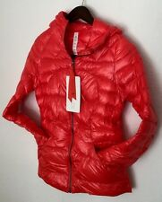 LULULEMON Fluffin Awesome Down Jacket Coat Parka Alarming Red Sz 4 NWT