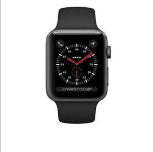 BRAND NEW Apple Watch Series 3 GPS + CEL BLACK iWatch