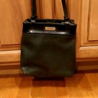Nine West Black Leather Shoulder Bag