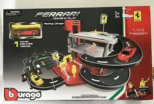 Ferrari Parking Garage Set Bburago 1:43rd Diecast Brand New