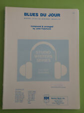 Blues Du Jour, John Fedchock, Big Band Arrangement