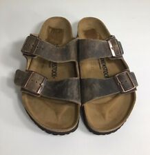 Birkenstock Arizona  Sandals Women's Size 40/9 Tobacco Leather