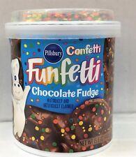 Pillsbury Confetti Funfetti Chocolate Fudge Frosting 15.6 oz