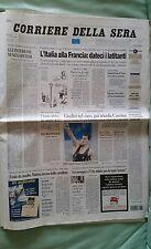 CORRIERE DELLA SERA ATENE 2004 24 AGOSTO MONTANO CHECHI CASSINA VEZZALI TRILLINI