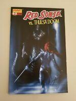 Red Sonja vs.Thulsa Doom 3 Del'Otto Variant key very high grade cgc ready
