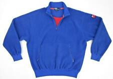 Vintage Polo By Ralph Lauren HI TEC 1/2 Zip Fleece Pullover Blue Sz Large
