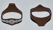 19902 Cinturón marrón gladiador 2u playmobil,belt,gladiator