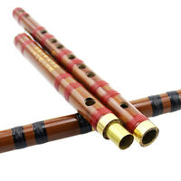 Traditional Chinese Musical Instrument Handmade Dizi Bamboo Flute in G Key EBEO