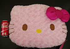 Hello Kitty Pillow - Plush - TEXTURED - SANRIO - Japan IMPORT - NEW