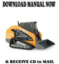Case Construction Tv380 Track Loader Service Repair Manual On Cd
