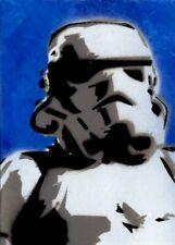 Star Wars Masterwork 2018 Sketch Card, Painted Stormtrooper by Jason Adams