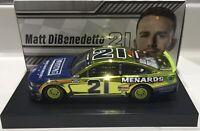 """2020 1/24 #21 Matt Dibenedetto """"Menards/Maytag"""" CC - Mustang - 1 of 72 SD Ship"""