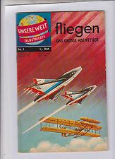 Unsere Welt Illustrierte 1962 BSV Nr. 1 sehr guter Zustand
