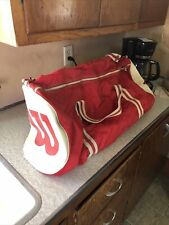 Vintage Wilson Tennis Bag. Gym Bag. Red