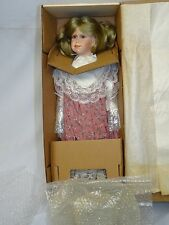 "VICTORIAN STYLE Renee Sturgeon COTTAGE PATH COLLECTION DOLL DOLL ~ 23"" * NIB"