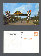 Indianapolis 500 Motor Speedway vintage postcard