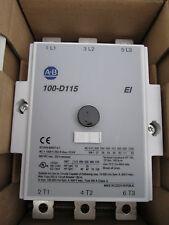 NEW 100-D115 ALLEN BRADLEY CONTACTOR 100-D115EZJ11  24V COIL