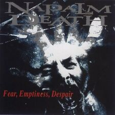 NAPALM DEATH FEAR EMPTINESS DESPAIR SEALED CD NEW