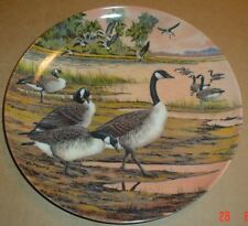 Dominion China Ltd Collectors Plate WINTER HOME - Geese