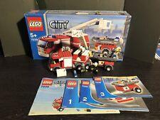 Lego 7239 - City - Pompier - Occassion Compet Boite Et Notice