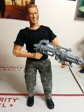 Custom Kurt Russel as Todd the Soldier 8 inch figure built on Mego & repro parts