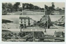 Bridgend & District, Glamorgan, 1963 Multiview RP Postcard, B998