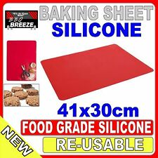 Silicone Pastry Mat Rolling Cake Dough Cooking Clay Fondant 41x30 Baking Sheet