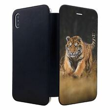 iPhone XS MAX Flip Wallet Case Cover Tiger Photo - S2788