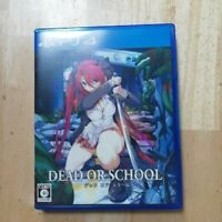 PS4 DEAD OR SCHOOL JAPAN Sony PlayStation 4 Video Game Japan w/Tracking#