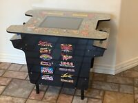 """NEW Arcade1up Cocktail Arcade Table 6"""" Riser Legs - Ms. Pacman Street Fighter II"""