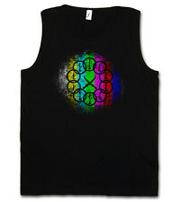 Mandarin vintage logo I Tank Top-Iron Tony Avengers sign on fortement 3 T-Shirt