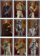 STAR WARS Attack of the Clones UK  Character C1-C10 SET OF 10 CHASE CARDS