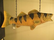 """""""Striped Fish"""" Replacement Sign - 3-D Resin Sign for Country Arrow Holde 00004000 rs"""