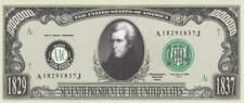 Bankbiljet billet Amerikaanse presidenten - 07 - Andrew Jackson 1829/1837