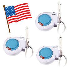 3*USA !! Dental SKYSEA Ultrasonic Piezo Scaler w/ EMS WOODPECKER Handpiece Tips